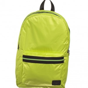 ARMANI TEEN Boys Lime Green Backpack