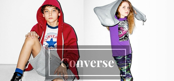 Converse children's wear is the best choice for your kid