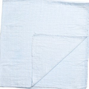 PASITO A PASITO Pale Blue Star Cotton Muslin