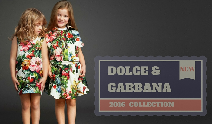 dolce gabbana kids clothes