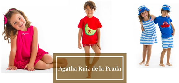Agatha Ruiz de la Prada kids clothing can arouse the desire to create, to get inspired and to enjoy the fashion world