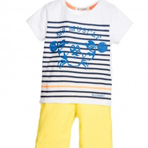 BILLYBANDIT Baby Boys 2 Piece Yellow Shorts Set