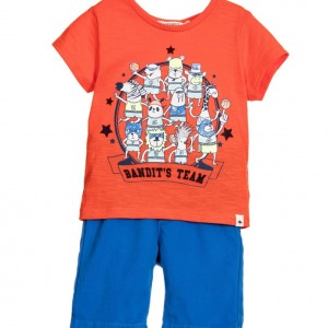 BILLYBANDIT Baby Boys Blue 2 Piece Shorts Set
