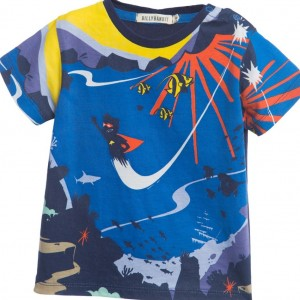 BILLYBANDIT Baby Boys 'Underwater' Print Top