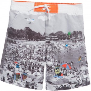 BILLYBANDIT Boys Photographic Print Swim Shorts