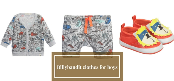 Biggest, finest and loudest novelty of this season – see the collection of Billybandit clothes for boys
