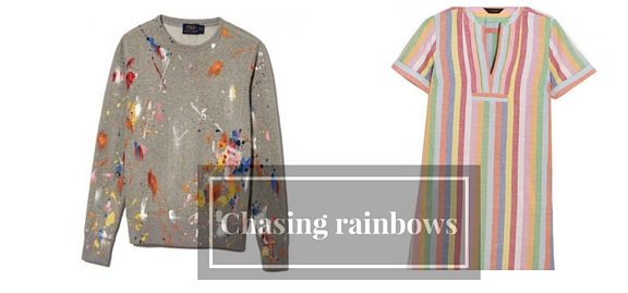 Chasing rainbows – designers revealed their collections which are filled to the brims with rich funky colors