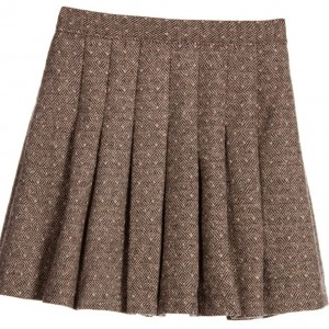 DARCY BROWN Brown & Pink Woven Skirt
