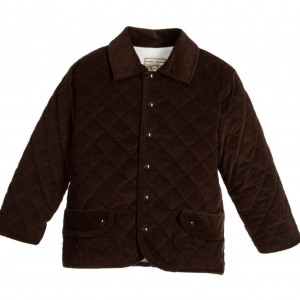 DARCY Boys Brown Cotton Corduroy Jacket