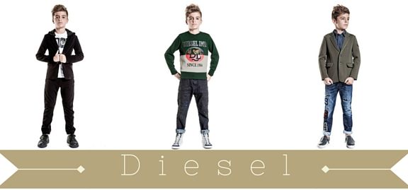 Diesel kids clothing stands for timeless quality and unforgettable style which makes it perfect for all children