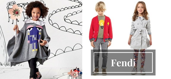Italy has become synonymous with high fashion and a perfect taste Fendi clothing for children is evidence of that