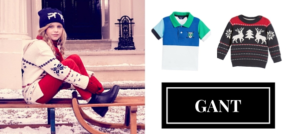 Timelessly stylish collection of wonderful Gant kids clothing is waiting for the most fashionable little clients