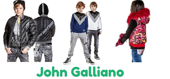 John Galliano exclusive collection of childrenswear was acknowledged as one of the most coveted and extensive of our time