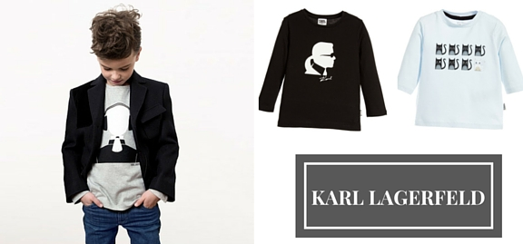 Plunge into brilliance and sophistication of forms with Karl Lagerfeld kids wear. Choose perfection!
