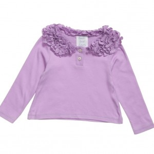 LEMON LOVES LAYETTE Lilac 'Coco Tee' T-Shirt