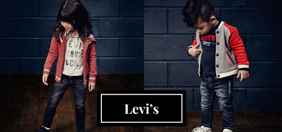 With an assortment of original designer items your baby is gonna be the best – let's wear Levi's kids clothing