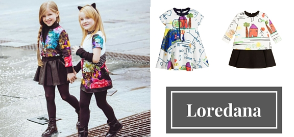 Loredana fashion childrenswear is about to bring much joy and stylish details to all modern-day families
