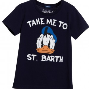 MC2 ST BARTH Blue 'Donald Duck' Disney Character T-Shirt