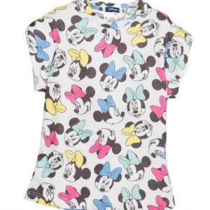 MC2 ST BARTH White 'Minnie Mouse' Disney Character T-Shirt