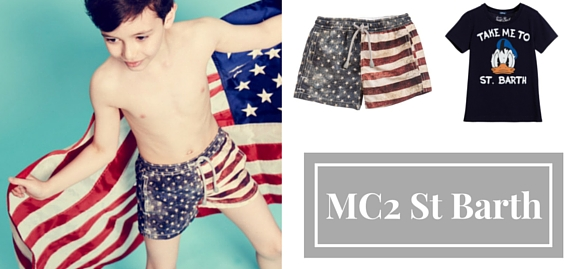 Dreams are bound to come true! Enjoy a new sophisticated range of MC2 St Barth kids swimwear