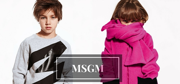 MSGM girls wear – see the world where passion is perfectly combined with excellence of style and taste