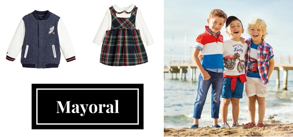 Supreme quality and unsurpassed Spanish style are all present in Mayoral exclusive kids clothing