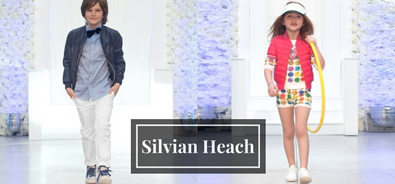 Silvian Heach kids clothes are in charge of making little ones truly fashionable and creative all day long