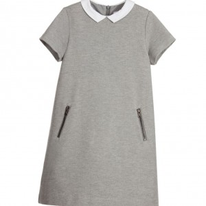 TARTINE ET CHOCOLAT Grey Milano Jersey Dress