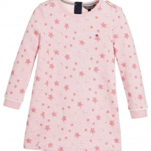 TOMMY HILFIGER Girls Pink Fleece Dress