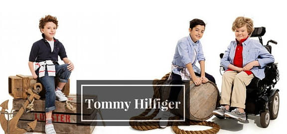 This collection of Tom Hilfiger stylish apparel will be the most sensitive and touching. Devoted to kids with special needs this brand became a phenomenon