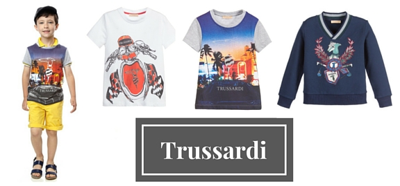 Byword for perfection and excellence Trussardi childrenswear has become an example for other brands