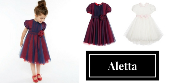 Discover Italian exquisite taste and truly fashionable style with Aletta exclusive kids clothes