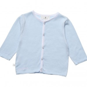 BELLY BUTTON Pale Blue Knitted Baby Cardigan