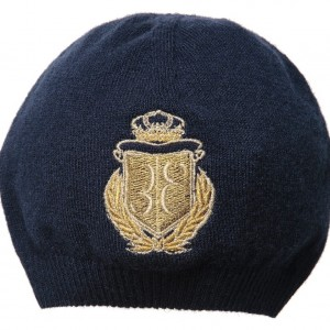 BILLIONAIRE Boys Navy Blue Knitted Hat