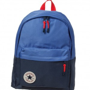 CONVERSE Blue Canvas Backpack