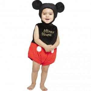 DISNEY BABY 'Mickey Mouse' Dress-Up Baby Costume