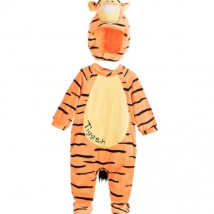 DISNEY BABY 'Tigger' Dress-Up Babysuit Costume