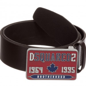 DSQUARED2 Boys Brown Leather Belt