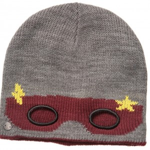 ESPRIT Boys Grey Superhero Knitted Hat