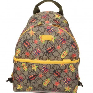 GUCCI Children's Yellow Beetle Backpack
