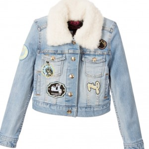 JUICY COUTURE Girls Denim Patch Jacket