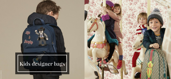 Kids designer bags will help your baby preserve a true balance between practicality and style