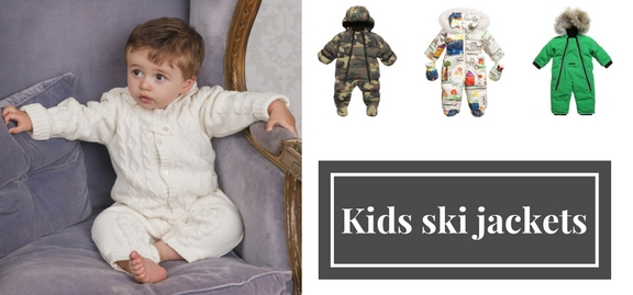Let's celebrate the new season and new arrivals for your baby – explore new and stylish kids ski jackets