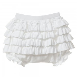 LEMON LOVES LAYETTE White Pima Cotton 'Bonnie' Bloomers