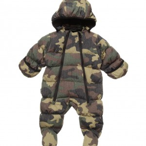 MOLO Baby Boys Padded Camouflage 'Hebe' Snowsuit