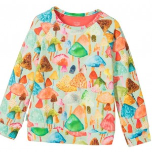 OILILY Girls Cotton Toadstool Sweater