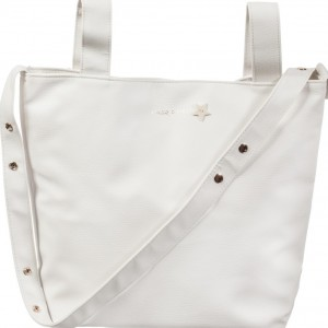 PASITO A PASITO Ivory 'Elodie' Stroller Baby Changing Bag