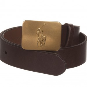 POLO RALPH LAUREN Boys Brown Leather Belt