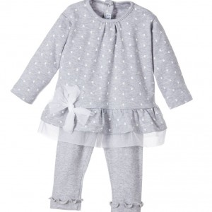 SOTTOCOPERTA Baby Girls 2 Piece Top & Trousers Set