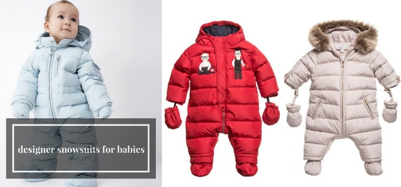 Seeking for new sophisticated outfits for winter you have come to the right place – choose designer snowsuits for babies